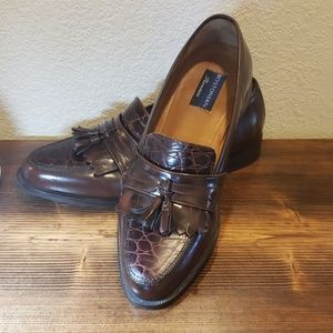 Bostonian Florentine brown leather loafers sz 11.5